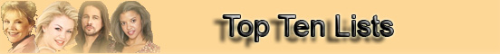 OLTL Top Ten Lists banner