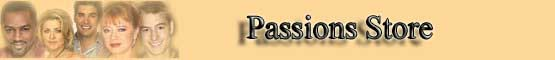 Passions Store banner