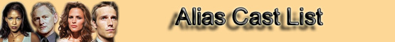 Alias Cast Banner