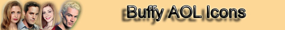 Buffy AOL Icons Banner
