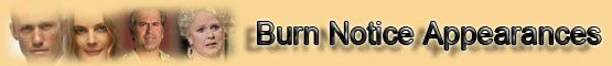 Burn Notice Appearances Page banner