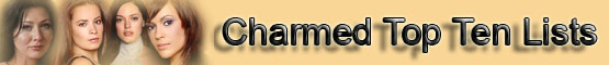 Charmed Top Ten List banner