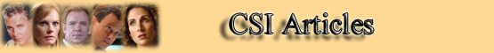 C.S.I. Articles Banner