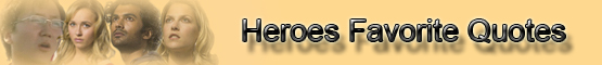 Heroes Quotes banner