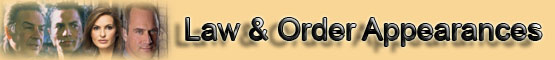 Law and Order Appearances Banner