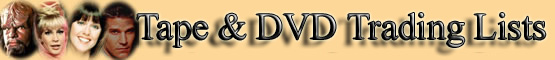 Videotape & DVD Trading Post Lists banner