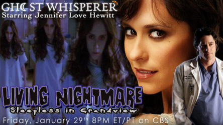 "Ghost Whisperer ad ""Living Nightmare"""