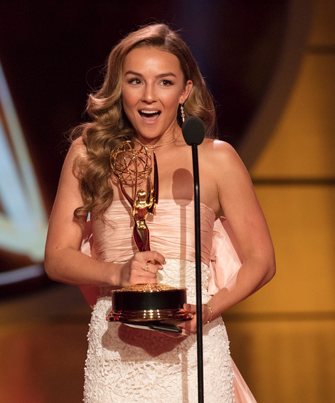 GH's Lexi Ainsworth wins the Daytime Emmy!