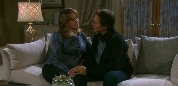 John and Marlena get cozy.