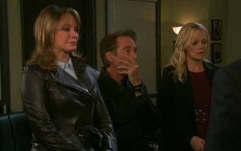 Marlena, John and Belle are disappointed in Eric.