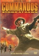 Commandos Stike at Dawn VHS cover