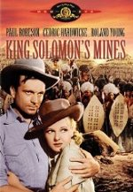 King Solomon's Mines DVD cover