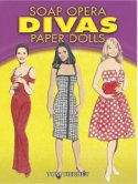 Soap Opera Divas Paper Dolls book cover