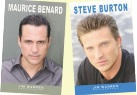 Maurice Benard & Steve Burton Photo Books
