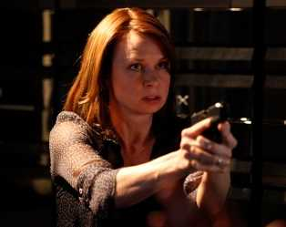 Chloe (Mary Lynn Rajskub) takes matters into her own hands to activate the CTU servers