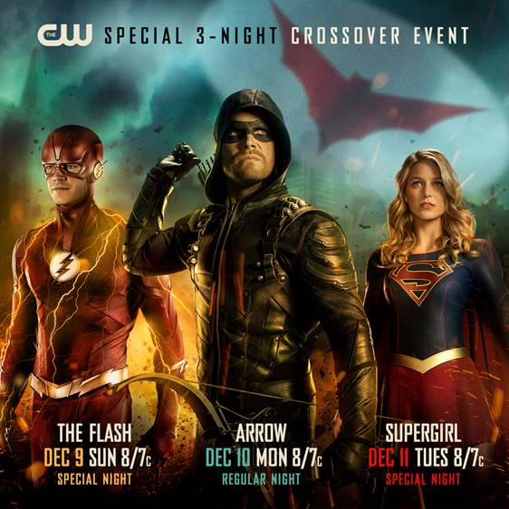 Arrowverse crossover pic