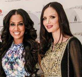 Georgina Chapman & LaLa Anthony of Project Runway All-Stars