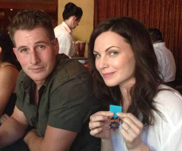 Brendan Fehr and Jill Flint