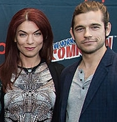 Sera Gamble and Jason Ralph