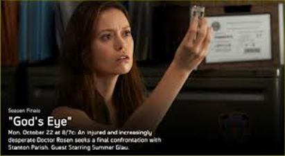 "Summer Glau on ""Alphas"""
