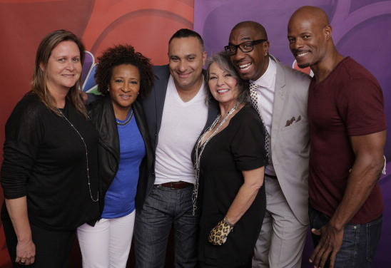 Page Hurwitz, Executive Producer, Wanda Sykes, Executive Producer, Russell Peters, Roseanne Barr, JB Smoove, Keenen Ivory Wayans