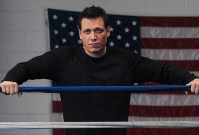 "Holt McCallany, star of ""Lights Out"" on FX"