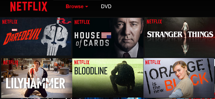 Netflix top shows
