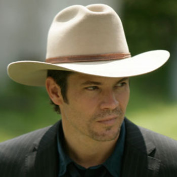 "Timothy Olyphant in ""Justified"""