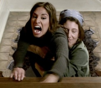 Meaghan Rath and Amy Aquino