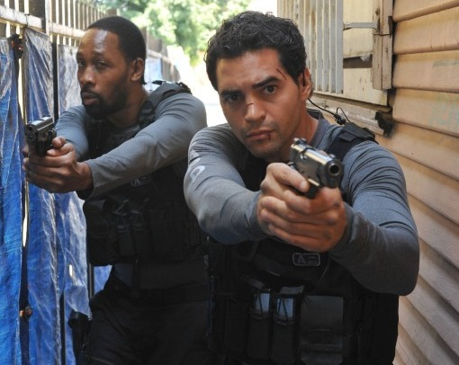 Ramon Rodriguez and RZA