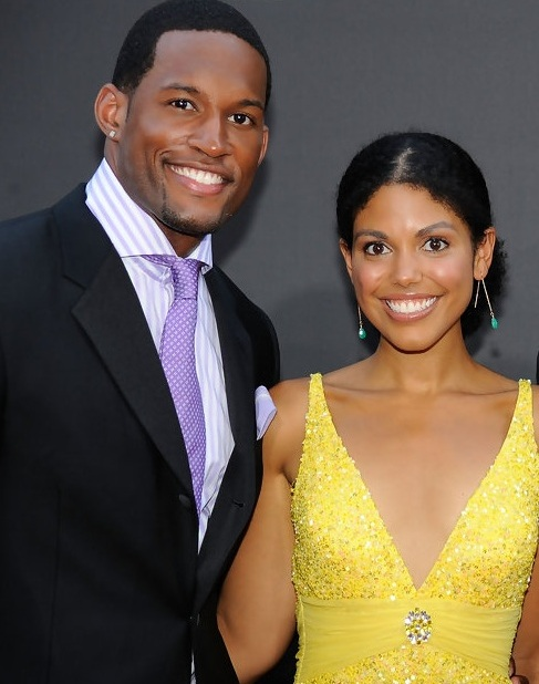 Lawrence Saint-victor and Karla Mosley