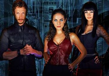Anna Silk, Kris Holden-Ried and Ksenia Solo