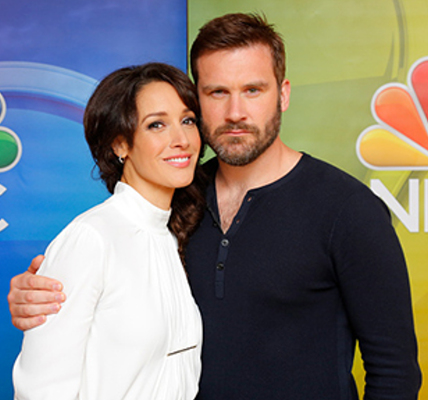 Clive Standen and Jennifer Beals
