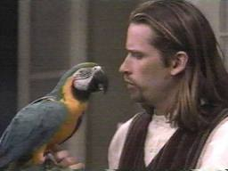 Todd and parrot