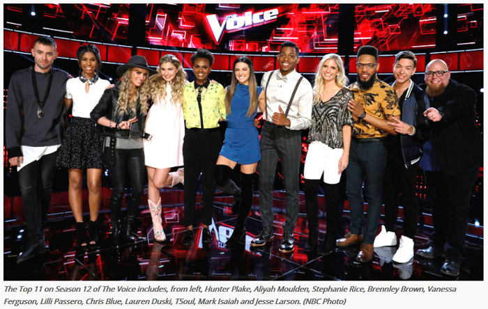 Top 11 The Voice