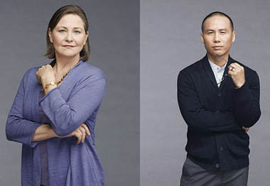 Cherry Jones and BD Wong