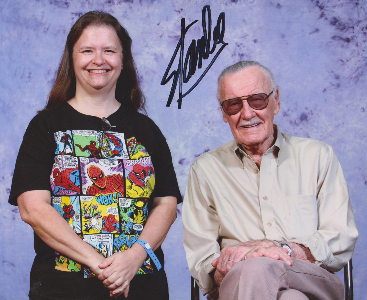 Stan Lee and me