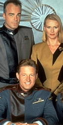 Babylon 5 cast photo