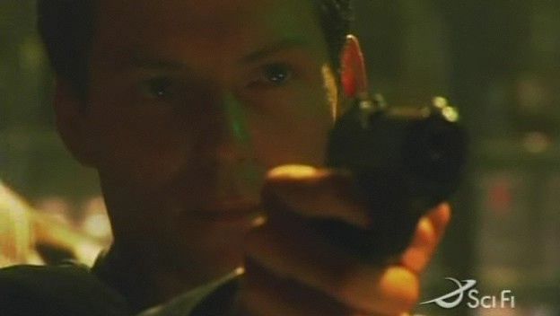 Lee in the episode 'Black Market'