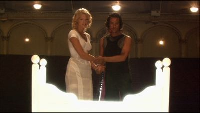 "photo of Six and Baltar in ""Kobol's Last Gleaming"""