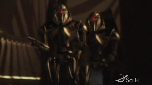Cylons aboard the Galactica In 'Valley of Darkness'