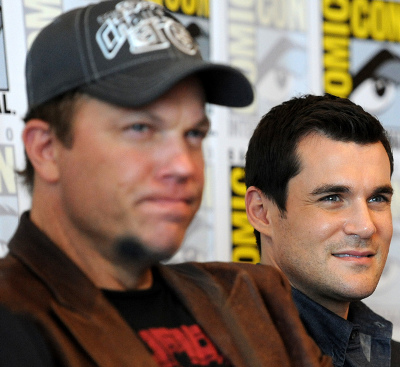 Adam Baldwin and Sean Maher