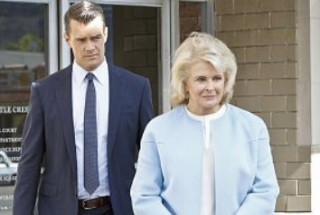 Josh Duhamel and Candice Bergen
