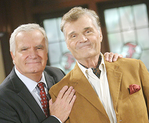 Fred Willard and John McCook