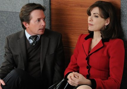 The Good Wife's Louis and Alicia