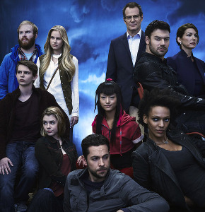 Heroes Reborn cast - love this show!
