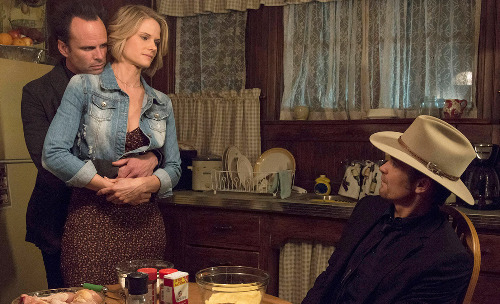 Justified's Boyd, Ava and Raylan