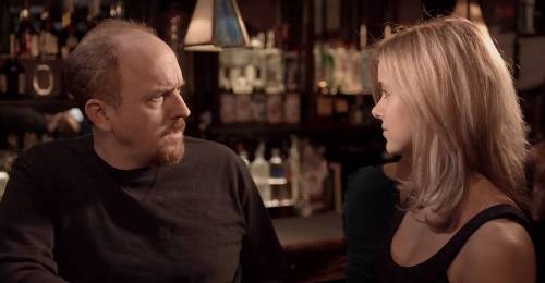 Louis CK is nominated for his show, which is over now...and not funny