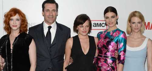 Some of the Mad Men cast