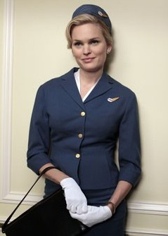 Mad Men stewardess - they don't like this any more!